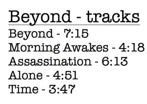 track list beyond